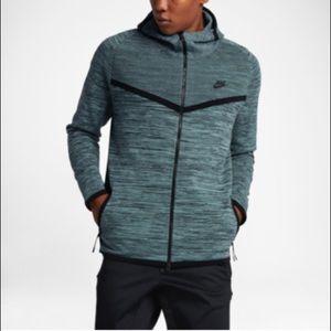Nike Tech Knit Windrunner Jacket Hasta Green Large